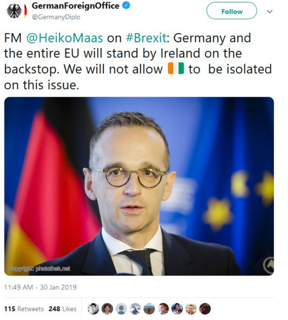 Source: @GermanyDiplo/Twitter
